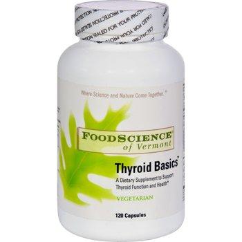 Buy Foodscience Of Vermont Thyroid Basics 120 Vegetarian